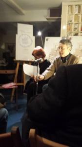 Presentación. Autora y A.Trapiello.
