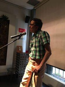 En la presentación de novedades de Baile del Sol, en Vergüenza Ajena.